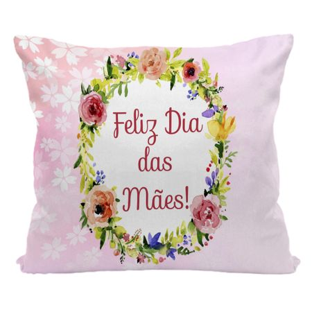 Almofada-Dia-das-Maes-30x30-Feliz-Dia-das-Maes-Arco-Flores--1-unidade