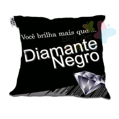 Almofada-Divertida-30x30-Diamante-Negro