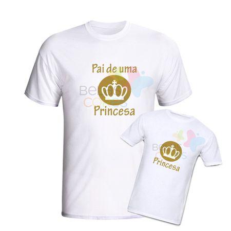 camiseta-branca-personalizada-pai-princesa-princesa