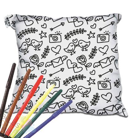 almofada-decorativa-para-colorir-30x30-passarinho-love-canetinha