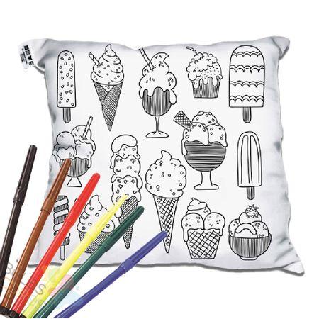 almofada-decorativa-para-colorir-30x30-sorvetes-canetinha