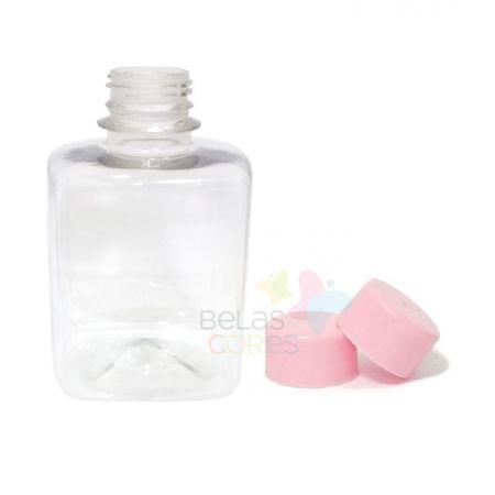 frasco-quadrado-250ml-tampa-rosa-10-unidades