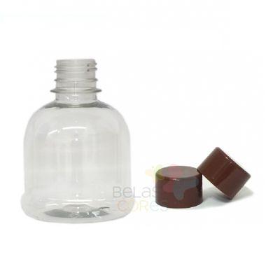frasco-cilindrico-200ml-tampa-marrom-10-unidades