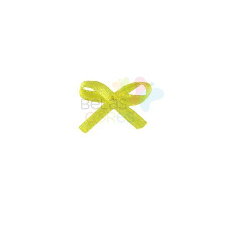 mini-lacinho-de-cetim-mosquitinho-amarelo-100-unidades
