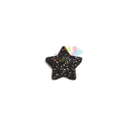 aplique-eva-estrela-preto-glitter-pp-50-uni