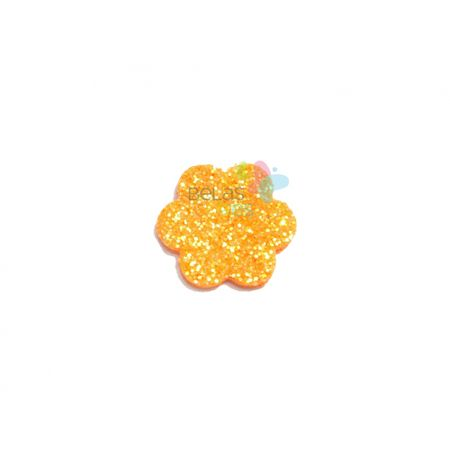 aplique-eva-escalope-laranja-glitter-pp-50-uni