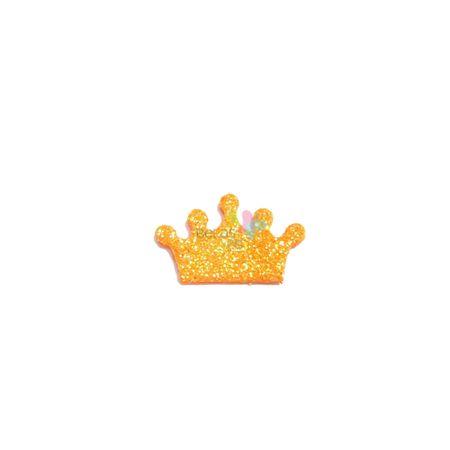 aplique-eva-coroa-laranja-glitter-p-50-uni