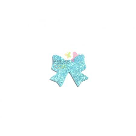 aplique-eva-laco-azul-claro-glitter-m-50-uni
