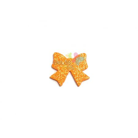 aplique-eva-laco-laranja-glitter-m-50-uni