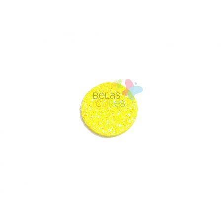 aplique-eva-bola-amarelo-glitter-g-50-uni