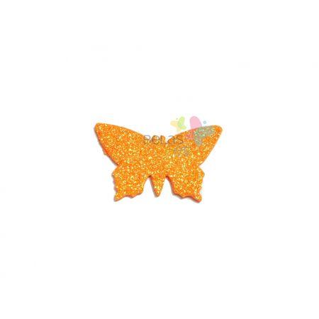 aplique-eva-borboleta-laranja-glitter-g-50-uni