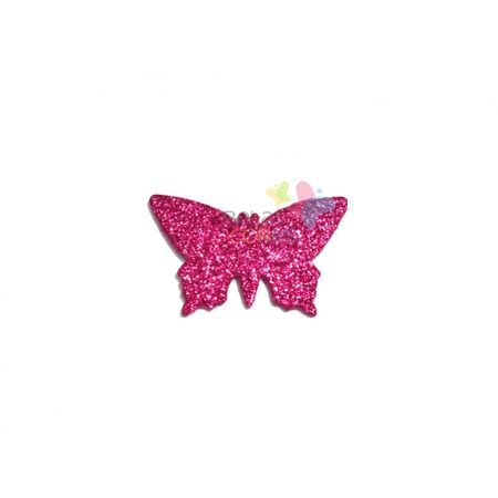 aplique-eva-borboleta-pink-glitter-g-50-uni