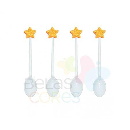 colherzinha-acrilica-branca-aplique-estrela-laranja-tamanho-pp-50-unidades