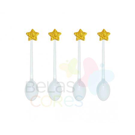 colherzinha-acrilica-branca-aplique-estrela-ouro-tamanho-pp-50-unidades