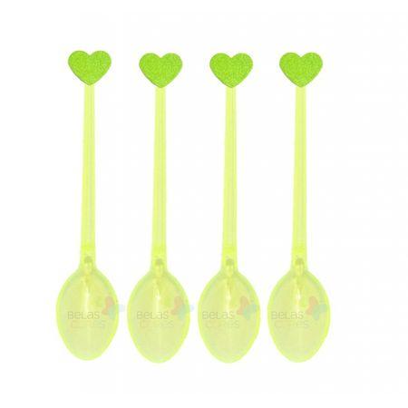 colherzinha-acrilica-amarela-aplique-coracao-verde-claro-tamanho-pp-50-unidades