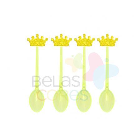 colherzinha-acrilica-amarela-aplique-coroa-amarelo-tamanho-p-50-unidades
