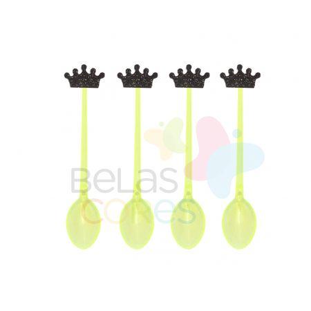 colherzinha-acrilica-amarela-aplique-coroa-preto-tamanho-p-50-unidades