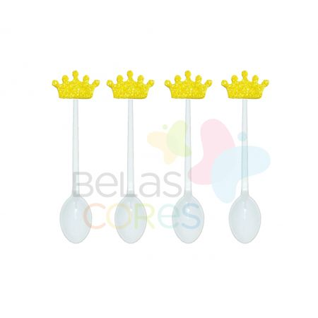 colherzinha-acrilica-branca-aplique-coroa-amarelo-tamanho-p-50-unidades
