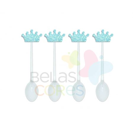 colherzinha-acrilica-branca-aplique-coroa-azul-claro-tamanho-p-50-unidades