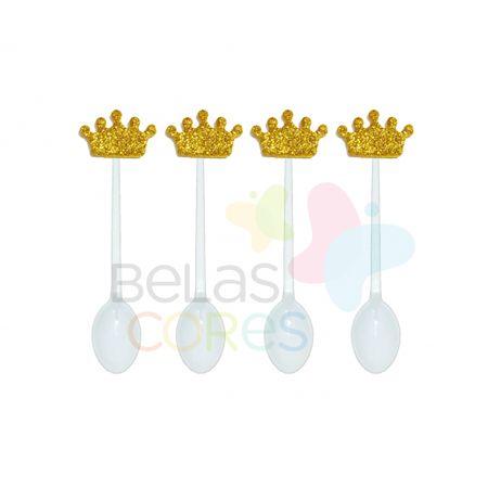 colherzinha-acrilica-branca-aplique-coroa-ouro-tamanho-p-50-unidades