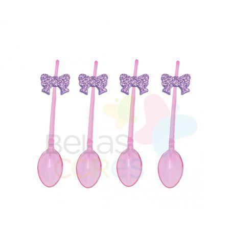colherzinha-acrilica-rosa-aplique-laco-lilas-tamanho-p-50-unidades