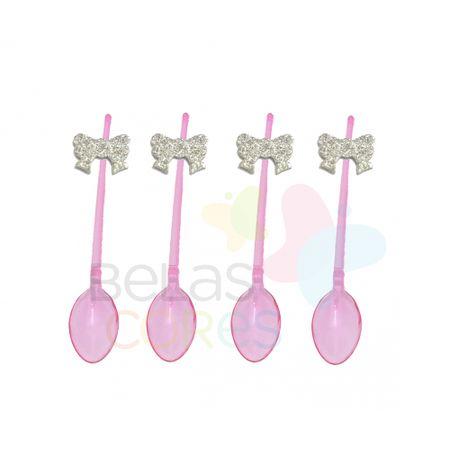 colherzinha-acrilica-rosa-aplique-laco-prata-tamanho-p-50-unidades