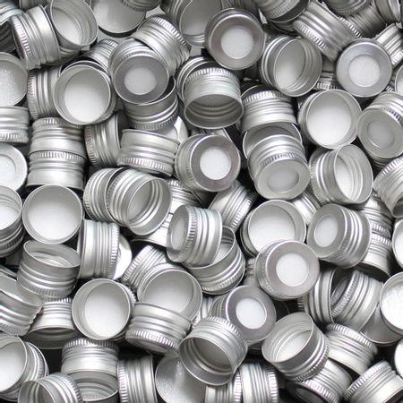 tampa-metal-prata-furada