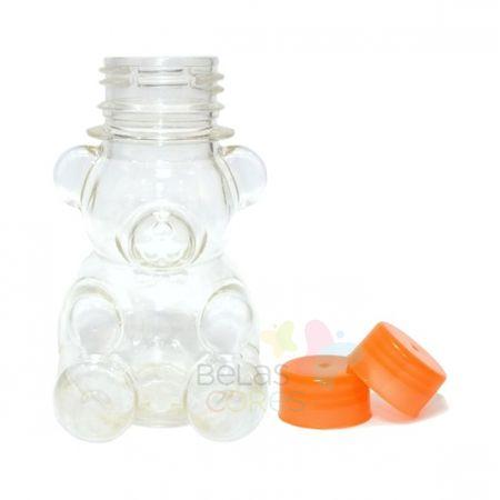 tubete-baleiro-pet-ursinho-80ml-tampa-laranja-10-unidades