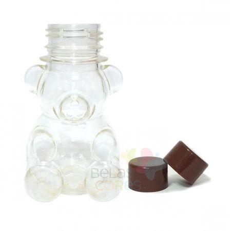 tubete-baleiro-pet-ursinho-80ml-tampa-marrom-10-unidades