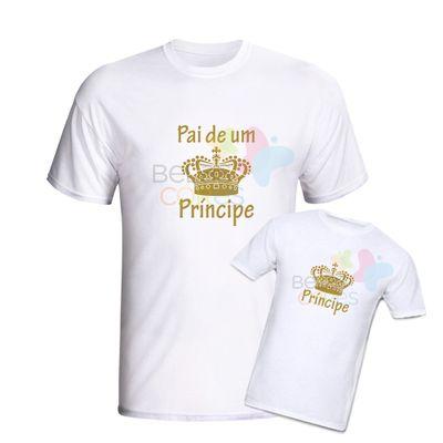 camiseta-branca-personalizada-pai-principe-principe