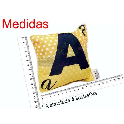 Almofada_Abecedario_X_de_Xerife_Frente