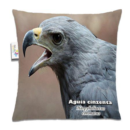 Almofada-Animal-30x30-Aguia-Cinzenta