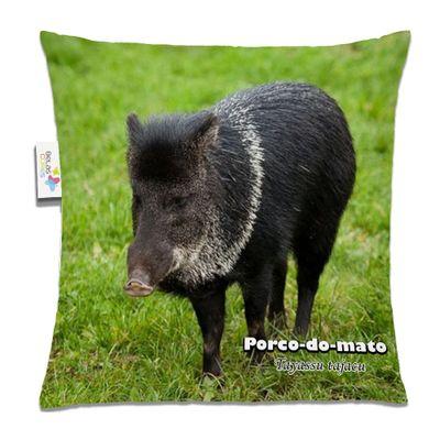 Almofada-Animal-30x30-Porco-Do-Mato