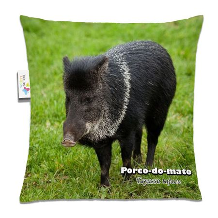Almofada-Animal-30x30-Porco-Do-Mato