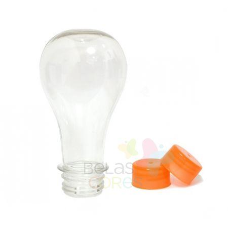 pet-lampada-boliche-100ml-tampa-laranja-10-unidades