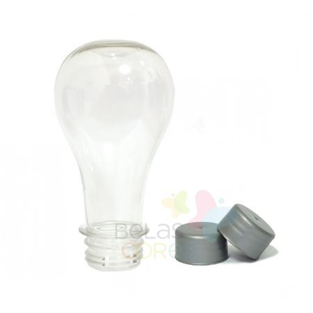 pet-lampada-boliche-100ml-tampa-prata-10-unidades