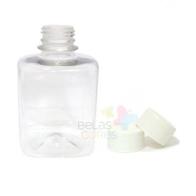 frasco-quadrado-250ml-tampa-branca-10-unidades