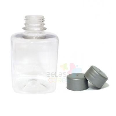 frasco-quadrado-250ml-tampa-prata-10-unidades