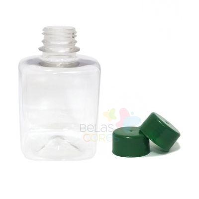 frasco-quadrado-250ml-tampa-verde-bandeira-10-unidades