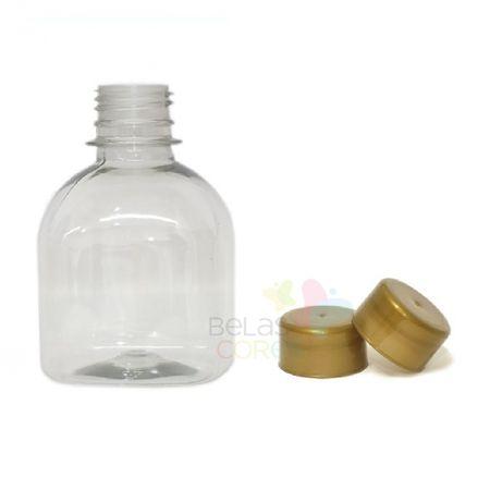 frasco-prisma-200ml-tampa-dourada-10-unidades