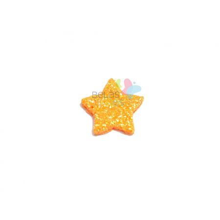 aplique-eva-estrela-laranja-glitter-pp-50-uni