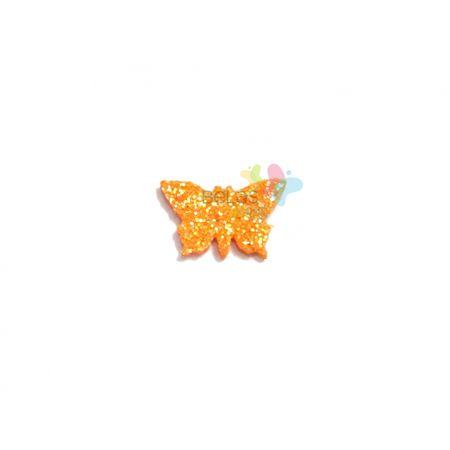 aplique-eva-borboleta-laranja-glitter-pp-50-uni
