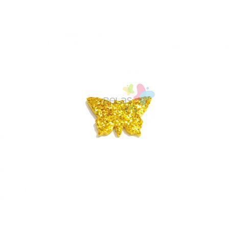 aplique-eva-borboleta-ouro-glitter-pp-50-uni