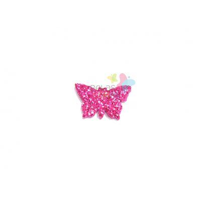 aplique-eva-borboleta-pink-glitter-pp-50-uni