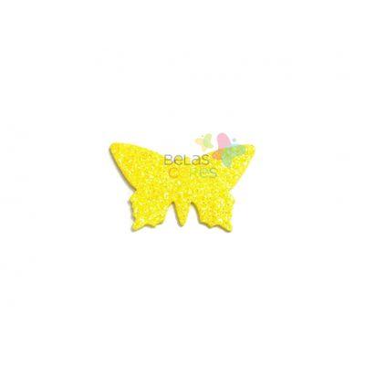 aplique-eva-borboleta-amarelo-glitter-g-50-uni