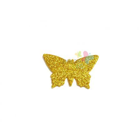 aplique-eva-borboleta-ouro-glitter-g-50-uni