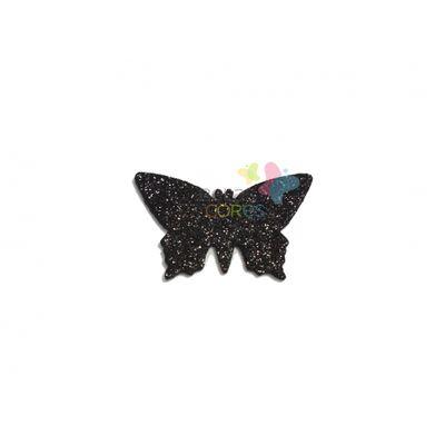 aplique-eva-borboleta-preto-glitter-g-50-uni