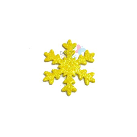 aplique-eva-gelo-amarelo-glitter-g-50-uni