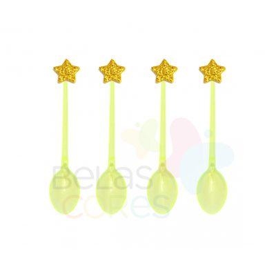 colherzinha-acrilica-amarela-aplique-estrela-ouro-tamanho-pp-50-unidades