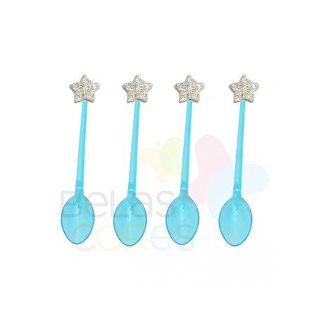 colherzinha-acrilica-azul-aplique-estrela-prata-tamanho-pp-50-unidades